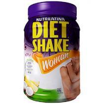 Diet Shake Woman 400g Laranja, Mamão e Cenoura - Nutrilatina