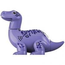 Digidinos Dinossauros Que Rugem E Cantam Brontossauro Lilás - Dtc