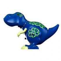 Digidinos Que Rugem E Cantam Tiranossauro Rex Azul Dtc -