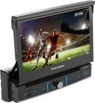 Digital vídeo disc 7 polegadas dvd retrátil sp6720dtv positron -