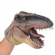 Dino Fantoche Marrom - DTC -