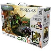 Dino-mundi desafio triceratopo 200 peças fun 7922-4 - Fun