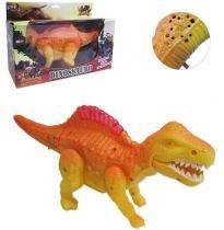 Dinossauro t-rex colors com som e luz a pilha - Wellmix