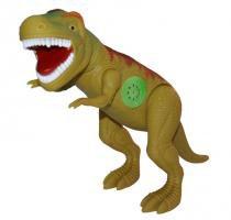Dinossauro Tirano Rex com Dispositivo de Som 43cm Adijomar - Verde -