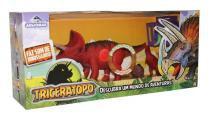 Dinossauro Triceratopo Com Som - Adijomar -