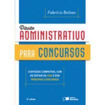 Direito Administrativo Para Concursos - Saraiva - 953059