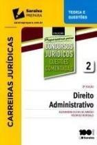 Direito Administrativo Questoes Comentadas Pcj Vol 2 - Saraiva - 953059
