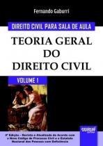 Direito civil para sala de aula, v.1 - Jurua editora -
