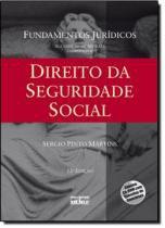 Direito da seguridade social - 12ª ed - Atlas exatas, humanas, soc (grupo gen)