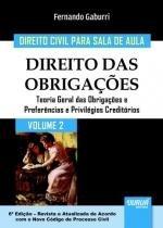 Direito das obrigações, v.2 - Jurua editora -