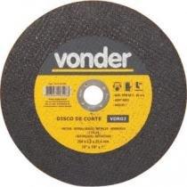 Disco de corte 254,0x3,0x15,87 2 telas para aço carbono vdr02 - Vonder -