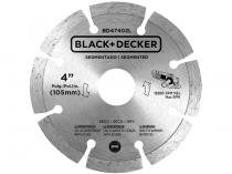 "Disco de Corte Diamantado 4"" BlackDecker - BD47401L"