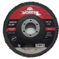 Disco De Lixa Flap 4.1/2 WORKER -