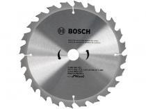 "Disco de Serra Circular 9"" 24 Dentes para Madeira - Bosch Eco For Wood"