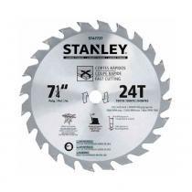 Disco de serra stanley para cortes finos em madeira - sta7757 -