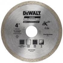 """Disco Diamantado 4"""" Contínuo Dw47401Bhp Dewalt -"""