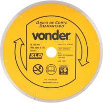 Disco diamantado liso para porcelanato 250 mm - Vonder