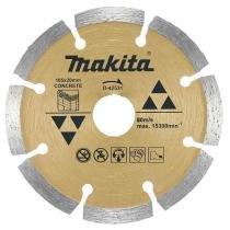 Disco diamantado makita 105x20mm segmentado para concreto - Makita