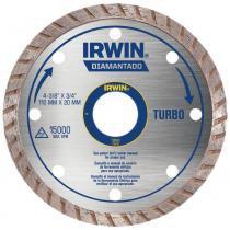 Disco Diamantado Turbo Irwin para Granito/Mármore 110mm x 20mm -