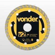 Disco Diamantado V4 Vonder 110mm - VONDER