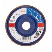 Disco Flap para Metal Bosch 4 1/2 Grão 80 - 4 1/12 -