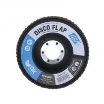 Disco Lixa Flap 4.1/2 120 Tatu Com 10 Unidades - Comprenet