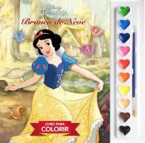 Disney aquarela - branca de neve - Difusao cultural do livro
