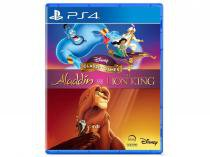 Disney Classic Games: Aladdin and the Lion King - para PS4 Disney