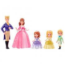 Disney Sofia Mini Família - Mattel - Princesinha Sofia