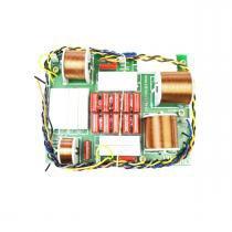 Divisor de Frequências 3 Vias 1050W p/ 2 Alto Falantes + Driver de Titânio - DF 1053 TI Nenis - Nenis
