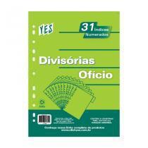 Divisória 31 Divisões Ofício - Numérica 1/31 - CINZA - Yes