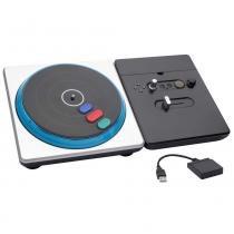 DJ Hero Sem Fio para PS2/PS3 PS4702 Preto e Prata Integris - Integris