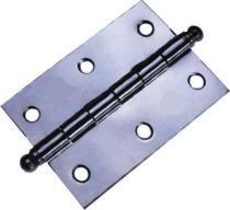 Dobradiça comum polida 3,5 x 2.1/4 pol mgm com 24 - Mg metal.