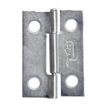 Dobradiça zincada galvanizada 1,5 fca com 24 unidades - Fca