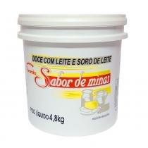 Doce de Soro de Leite 4 8kg - Sabor de Minas -