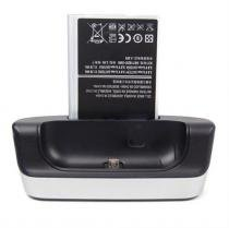 Dock Station Com Slot P/ Bateria Extra Para Galaxy Note 2 N7 - Willhq