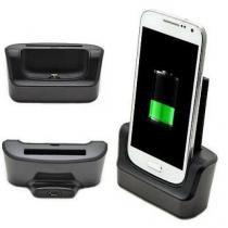 Dock Station Com Slot Para Bateria Extra P/ Galaxy S4 I9500 I9505 - Willhq