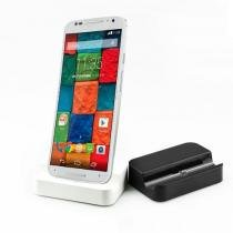 Dock Station Mesa para Samsung Motorola Nokia e LG Branco - Willhq