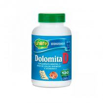 Dolomita com Vitamina D - 120 Cápsulas - Unilife -