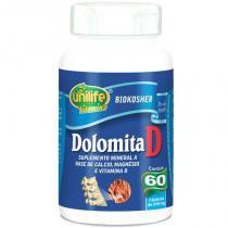 Dolomita com Vitamina D 60 cápsulas Unilife - Unilife