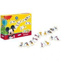 Dominó A Casa do Mickey Mouse 28 Peças - Xalingo