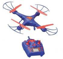 Drone Helicoptero Quadricoptero Superman Controle Remoto Giro 360 Brinquedo Crianca (smdr01) - Zein