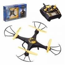 Drone Quadricoptero Batman Giro 360 Controle Remoto Infantil Brinquedo - Zein