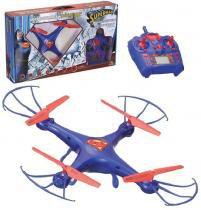 Drone Quadricoptero Superman Giro 360 Controle Remoto Brinquedo Infantil - Zein