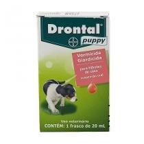 Drontal Puppy Suspensão 20ml Bayer vermífugo cães - Bayer