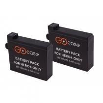 Duas baterias recarregáveis para câmera GoPro HERO4 - PROPOWER - Gocase - Gocase