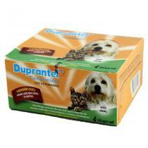 Duprantel Vermífugo Cães 10kg 200 comp - Duprat -