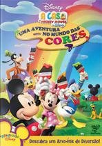 DVD A Casa Do Mickey Mouse - Uma Aventura No Mundo Das Cores - 953169