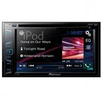 DVD Automotivo 2DIN com Bluetooth Pioneer AVH-288BT - Pioneer