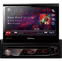 """DVD Automotivo com Tela Retratil 7"""" CD/USB/AUX/FM/AM AVH3880DVD Pioneer -"""